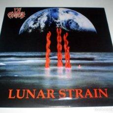 Discos de vinilo: LP IN FLAMES - LUNAR STRAIN. Lote 246047045