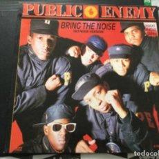 Discos de vinilo: PUBLIC ENEMY - BRING THE NOISE. Lote 246049585