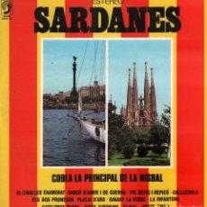 Discos de vinilo: SARDANES - COBLA LA PRINCIPAL DE LA BISBAL / LP DISCOPHON DE 1974 / BUEN ESTADO RF-9270. Lote 246049705