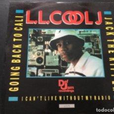 Discos de vinilo: L.L. COOL J -GOING BACK TO CALI / RIPPER .UK. Lote 246050200