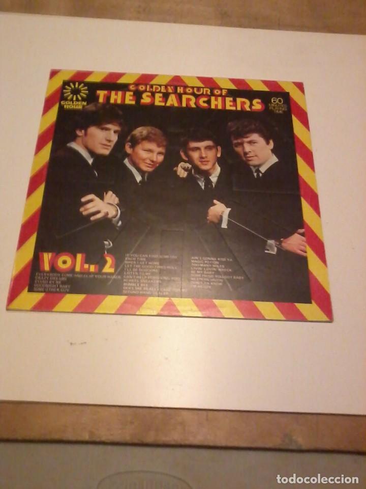 THE SEARCHERS LP GOLDEN HOUR OF THE SEARCHERS UK1973 (Música - Discos - LP Vinilo - Pop - Rock - Internacional de los 70)