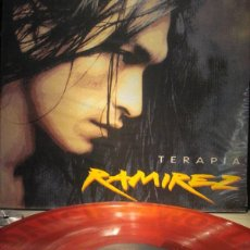 Discos de vinilo: RAMIREZ TERAPIA VINILO DE COLOR ROJO EDICION BRASILEÑA SUPER RARO TRANCE TECHNO. Lote 246057805