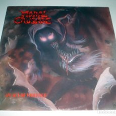 Discos de vinilo: LP MORAL CRUSADE - AN ACT OF VIOLENCE. Lote 99857871