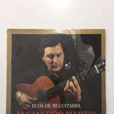 Discos de vinilo: LP ALEJANDRO MARTIN - ECOS DE MI GUITARRA. Lote 246061445