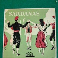 Discos de vinilo: SARDANAS. PASTORAL + 3. COBLA LA PRINCIPAL DE LA BISBAL. EP REGAL. Lote 246063010