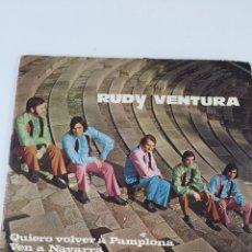 Discos de vinilo: DISCO RUDY VENTURA. Lote 246064305