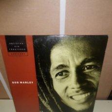 Discos de vinilo: BOB MARLEY / ARTISTAS SIN FRONTERAS / 2 LPS / EDICION ESPECIAL - DISPONGO DE MAS DISCOS DE VINILO. Lote 246064770