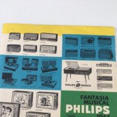 Discos de vinilo: DISCO FANTASÍA MUSICAL PHILIPS 1965. FRANCISCO DE MIGUEL. Lote 246066685