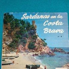 Discos de vinilo: SARDANAS EN LA COSTA BRAVA Nº 2. DE PUNTETES + 3. COBLA BARCELONA. EP REGAL. Lote 246067075
