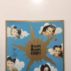 Discos de vinilo: LP BOM BOM CHIP - TOMA TOMA Y TOMA - PRECINTADO DE FÁBRICA! SEALED!! NUEVO A ESTRENAR!. Lote 246068040