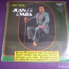 Discos de vinilo: JUAN EL DE LA VARA - MI VARA - LP BELTER 1980 - FLAMENCO - GUITARRA REMOLINO HIJO. Lote 246069675