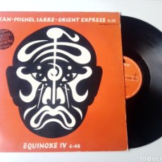 Discos de vinilo: JEAN MICHEL JARRE MAXI ORIENT EXPRESS + EQUINOXE IV 1982. Lote 246070345