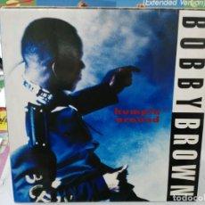 Discos de vinilo: BOBBY BROWN - HUMPIN´AOURD - MAXI SINGLE DEL SELLO MCA 1992. Lote 246072275