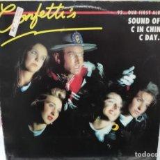 Discos de vinilo: CONFETTI´S - 92 - MAXI SINGLE SELLO EPIC 1989. Lote 246073600
