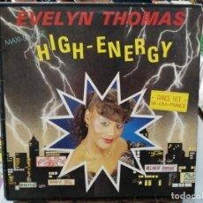 Discos de vinilo: EVELYN THOMAS - HIGH ENERGY - MAXI SINGLE SELLO ARIOLA 1984. Lote 246074630