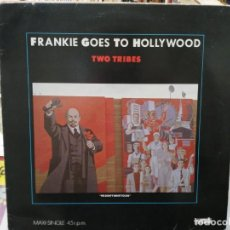 Discos de vinilo: FRANKIE GOES TO HOLLYWOOD ANNIHILATION - TWO TRIBES - MAXI SINGLE SELLO ISLAND 1984. Lote 246074925