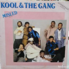 Discos de vinilo: KOOL & THE GANG - MISLED - MAXI SINGLE SELLO DELITE 1985. Lote 246075675
