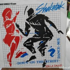 Discos de vinilo: SHAKATAK - DOWN ON THE STREET - MAXI SINGLE 1984. Lote 246077730