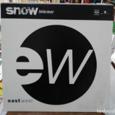 Discos de vinilo: SNOW - INFORMER - MAXI SINGLE SELLO EW 1992. Lote 246077930