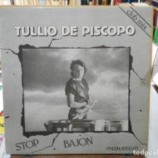 Discos de vinilo: TULLIO PISCOPO - STOP BAJON - 1984. Lote 246078630