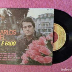 Discos de vinilo: EP CARLOS ZEL - COISAS BELAS DE LISBOA - RODA RPE 1475 - PORTUGAL PRESS (NM/NM). Lote 246090340