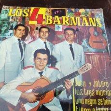 Discos de vinilo: LOS 4 BARMANS EP. Lote 246093455