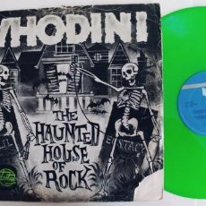Discos de vinilo: WHODINI-MAXI THE HAUNTED HOUSE OF ROCK. Lote 246101580