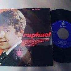 Discos de vinilo: RAPHAEL-EP LOS JOVENES ENAMORADOS +3-NUEVO. Lote 246102075