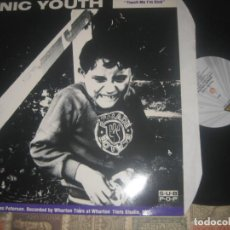 Discos de vinilo: SONIC YOUTH / MUDHONEY – TOUCH ME I'M SICK / (BLAST FIRSTMAXI VINYL 1989) OG ENGLAND LEA DESCRIPCIO. Lote 246105835