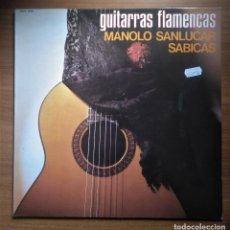 Discos de vinilo: GUITARRAS FLAMENCAS, SANLUCAR-SABICAS, CIDA 5078, 1982. Lote 245717225