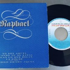 Discos de vinilo: RAPHAEL-EP YO SOY AQUEL + 4. Lote 246110025