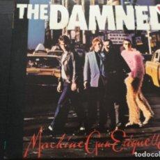 Discos de vinilo: THE DAMNED - MACHINE GUN ETIQUETTE . UK 1979. Lote 246115760