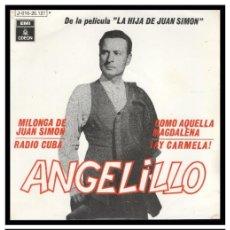 Discos de vinilo: XX VINILO, ANGELILLO, MILONGA DE JUAN SIMON, AY CARMELA, RADIO CUBA Y COMO AQUELLA MAGDALENA.. Lote 246139950