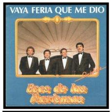 Discos de vinilo: XX VINILO, ECOS DE LAS MARISMAS, VAYA FERIA QUE ME DIO Y EMIGRANTE DEL SUR.. Lote 246142315