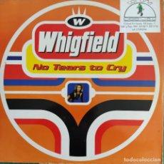 "Discos de vinilo: WHIGFIELD - NO TEARS TO CRY (12"") (1997/ES). Lote 246151705"