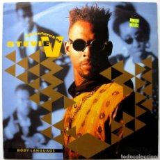 Discos de vinilo: ADVENTURES OF STEVIE V. - BODY LANGUAGE - MAXI MERCURY 1990 UK BPY. Lote 246153295