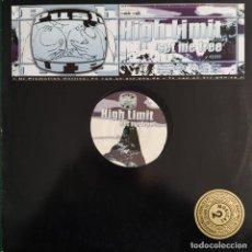 """Discos de vinilo: HIGH LIMIT - SET ME FREE (12"""") (2000/DE). Lote 246154740"""