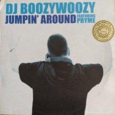 "Discos de vinilo: DJ BOOZYWOOZY FEATURING PRYME - JUMPIN' AROUND (12"") (2002/NL). Lote 246154940"