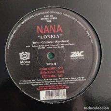 "Discos de vinilo: NANA - LONELY (12"") (1997/IT). Lote 246156145"