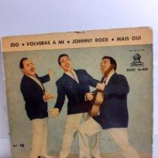 Discos de vinilo: DISCO SINGLE TRIO GUADALAJARA. Lote 246156640