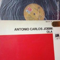 Discos de vinilo: ANTONIO CARLOS JOBIM -OLA -LP-PORTADA DOBLE -ESPAÑA. Lote 246158405