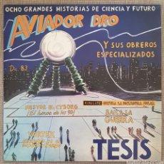 Discos de vinilo: AVIADOR DRO - TESIS LP VINILO 2018. Lote 246160030