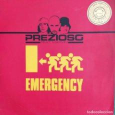 "Discos de vinilo: PREZIOSO FEAT. MARVIN - EMERGENCY 911 (12"") (2001/IT). Lote 246165200"