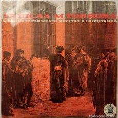 Discos de vinilo: SABICAS / M. TORROBA - CONCIERTO FLAMENCO / RECITAL A LA GUITARRA (LP) (1962/ES). Lote 246165910