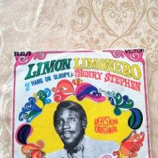 Discos de vinilo: DISCO VINILO SINGLE HENRY STEPEN LIMÓN Y LIMONERO. Lote 246168275
