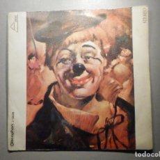 Discos de vinilo: PINO PUGLIESE - EL ÚLTIMO PAYASO - TONETA - DISCOPHON 1971. Lote 246170435