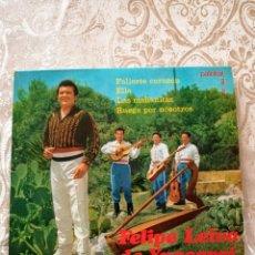 Discos de vinilo: DISCO EP VINILO FELIPE LEIVA DE YPACARAI Y SUS ASES PARAGUAYOS. Lote 246177090