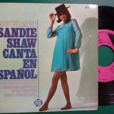 Discos de vinilo: EP: SANDIE SHAW CANTA EN ESPAÑOL (PYE, 1967) - EUROVISIÓN 67 -. Lote 246181135