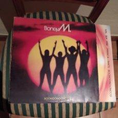 Discos de vinilo: BONEY M, BOONOONOONOOS-1981- SELLO ARIOLA. Lote 246184420
