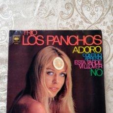 Discos de vinilo: DISCO VINILO SINGLE LOS PANCHOS. Lote 246184645